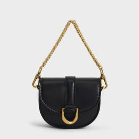 【2021 WINTER 新作】マイクロガビーヌ サドルバッグ / Micro Gabine Saddle Bag- (Black)