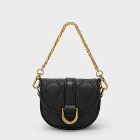 【2021 WINTER 新作】マイクロガビーヌ サドルバッグ / Micro Gabine Saddle Bag- (BlackTextured)