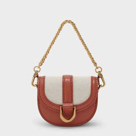 【2021 WINTER 新作】マイクロガビーヌ サドルバッグ / Micro Gabine Saddle Bag- (Brick)
