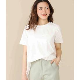 バックレース切替Tシャツ(オフホワイト)