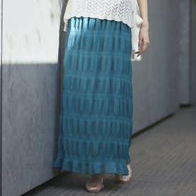 マジョリカプリーツスカート(ブルー)