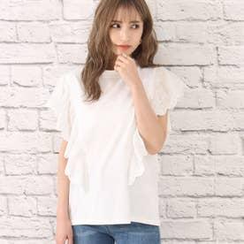 オーバーレースTシャツ(ホワイト)