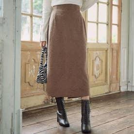 ストレッチジャガードタイトスカート(モカ)