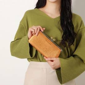 【WEB限定】キャンディーIIプレミアム がま口長財布 [55-4302] (オレンジ)