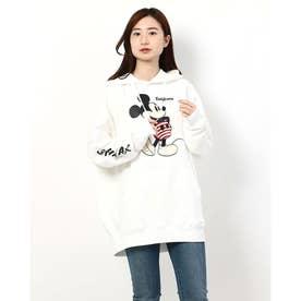 ムラサキスポーツ別注 ミッキーマウスパーカー(ホワイト)