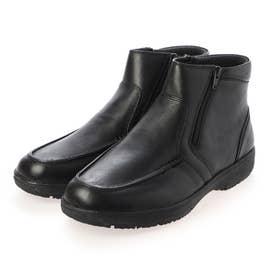 日常の歩行をよりアクティブに サイドファスナー付きブーツ SPGF6504A (ブラック)