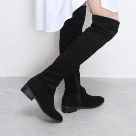 ブーツ (ブラックスウェード)