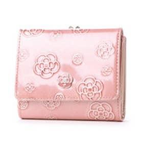 アルゴ 口金2つ折り財布 (ピンク)