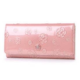アルゴ フラップ長財布 (ピンク)