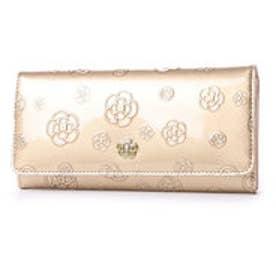 アルゴ フラップ長財布 (ゴールド)