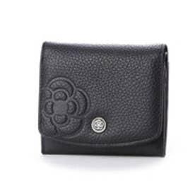 ラデュレⅡ 2つ折り財布 (ブラック)
