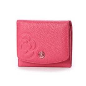 ラデュレⅡ 2つ折り財布 (ピンク)