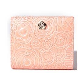 プラネット 二つ折り財布 ピンク3