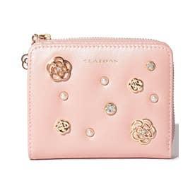 ロアール 二つ折り財布 ピンク3