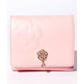 リュンヌ 二つ折りBOX財布 ピンク3