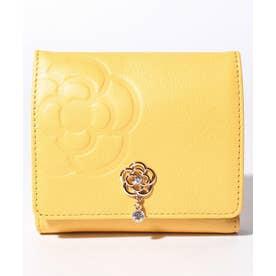 リュンヌ 二つ折りBOX財布 イエロー