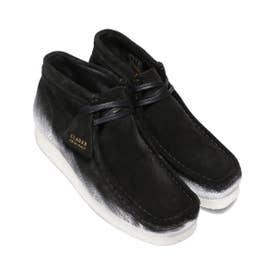 Wallabee Boot Blk/White (BLACK)