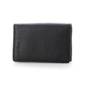 ショップ袋付き カードケース 名刺入れ メンズ  (ブラック)