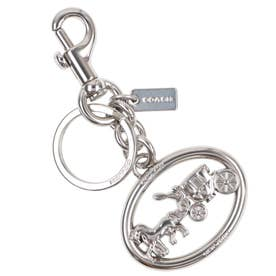 【Coach(コーチ)】Coach HORSE AND CARRIAGE BAG CHARM 5397silver (SILVER)