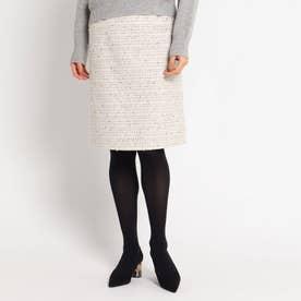 ロザリーツィードスカート (ホワイト)