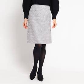 ロザリーツィードスカート (ライトグレー)