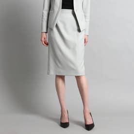 【洗える/スーツ】美シルエットタイトスカート (ライトグレー)