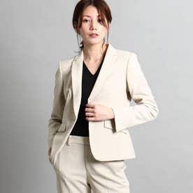 【洗える/スーツ】美シルエットテーラードジャケット (ナチュラル)