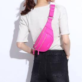 ネオプレン ベルト バッグ womens (ピンク グロー)
