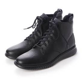 2.ゼログランド シティ ブーツ ウォータープルーフ mens (ブラック / ブラック ウォータープルーフ)
