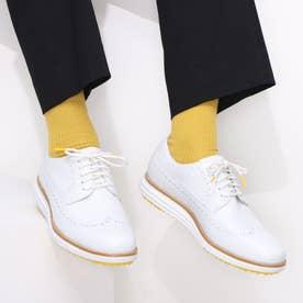 オリジナルグランド ウィング オックスフォード ゴルフ mens (ホワイト / ホワイトウォータープルーフ)