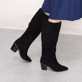 ウィラ ブーツ 75mm womens (ブラック スエード / ブラック)