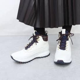 ゼログランド エクスプロー オール テレイン ハイカー ウォータープルーフ womens (ホワイト クロコ プリント / ウール)