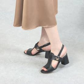 アデル サンダル (65mm) womens (ブラック レザー)