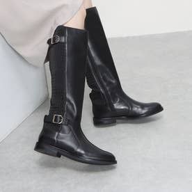 チェスリー ウォーターレジスタント ブーツ womens (ブラック レザー)