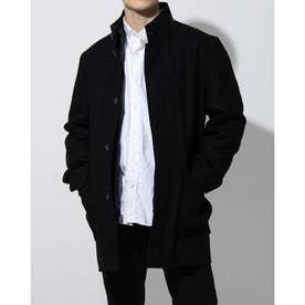 メルトン ウール 3イン1 コート mens (ブラック)