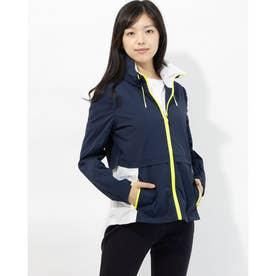 ゼログランド ウィメンズ トレーニング ジャケット womens (ネイビー / ホワイト)
