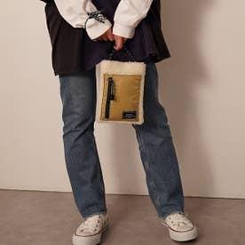 ショルダーバッグ レディース ブランド 小さめ 斜めがけ 軽量 ショルダー バッグ ボア 通学 おしゃれ (アイボリー)