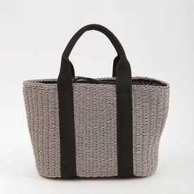 テープハンドル かごバッグ トートバッグ 巾着 かご バッグ 20131-12003 (グレー)