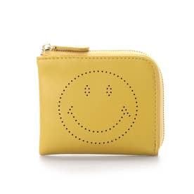 SMILEY/パンチングコインケース (イエロー)