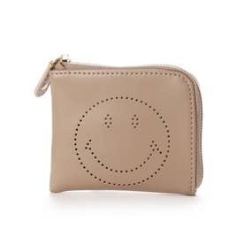 SMILEY/パンチングコインケース (グレージュ)