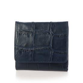 折財布 (ネイビー)