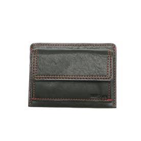 ラミ 薄コンパクト財布 フラグメントケース パスケース (グリーン)