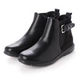 軽量カジュアルブーツ (ブラック)