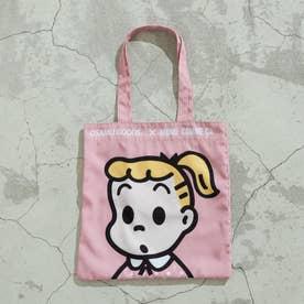 〔モノコムサ〕 トートバッグ (ピンク)