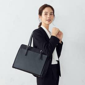 〔モノコムサ〕 ビジネスバッグ (ブラック)