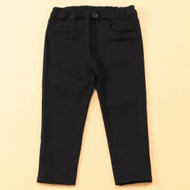 裏起毛 ロングパンツ(80・90サイズ) (ブラック)