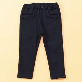 裏起毛 ロングパンツ(80・90サイズ) (ネイビー)