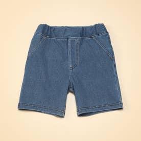 ジャージーデニム グルカパンツ(80・90サイズ) (ブルー)