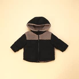 リバーシブル 中わたコート(80・90サイズ) (キャメル)