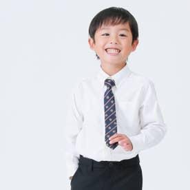 ロイヤルクレスト柄 ネクタイ【オケージョン・フォーマル・結婚式・お呼ばれ】(ネイビー)